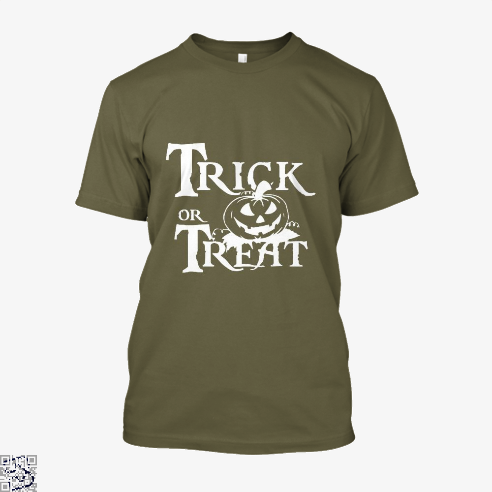 Trick Or Treat Halloween Shirt - Men / Brown / X-Small - Productgenjpg