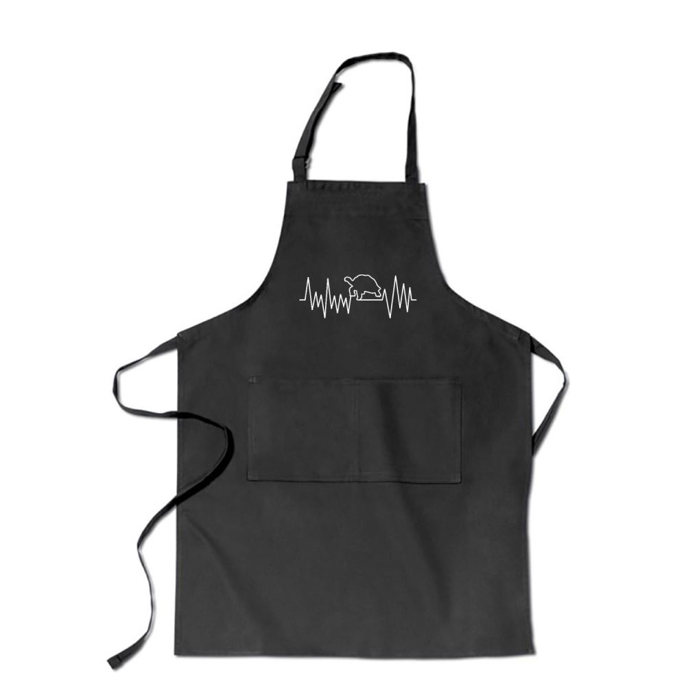 Turtle Beat Sea Turtles Apron - Black / Polyster - Productgenjpg