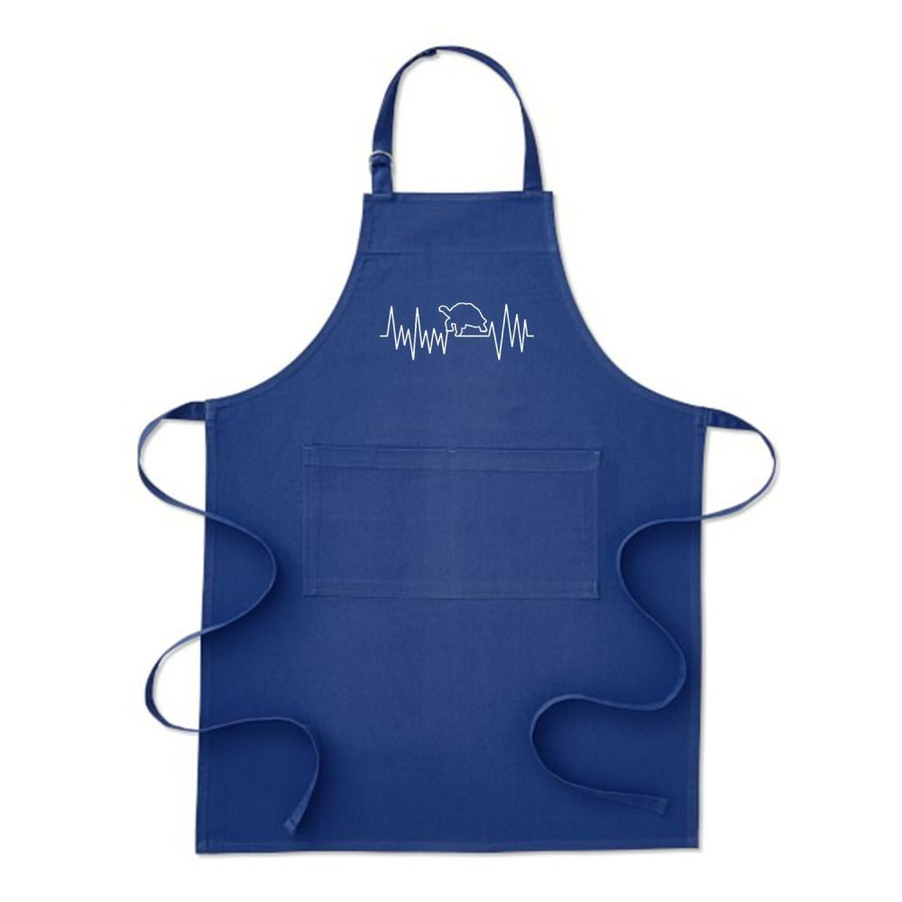 Turtle Beat Sea Turtles Apron - Blue / Polyster - Productgenjpg