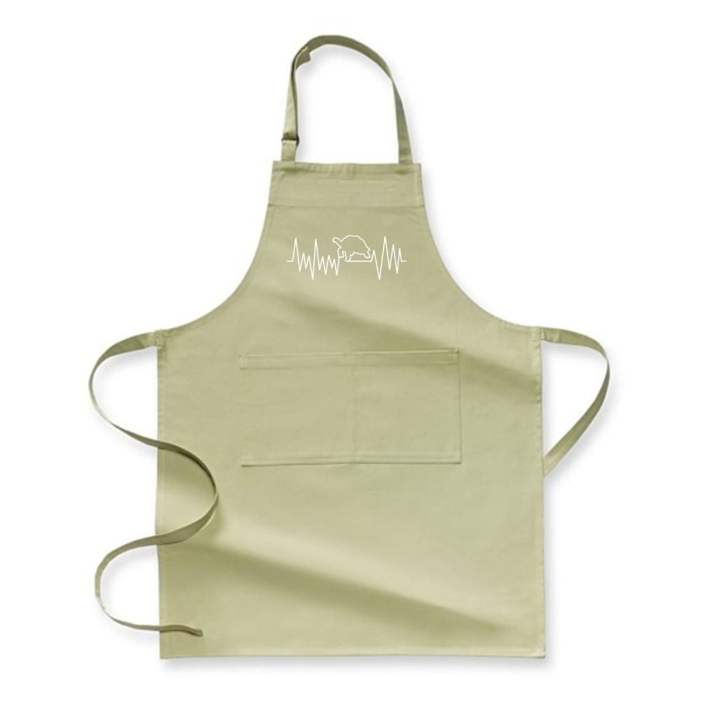 Turtle Beat Sea Turtles Apron - Green / Polyster - Productgenjpg