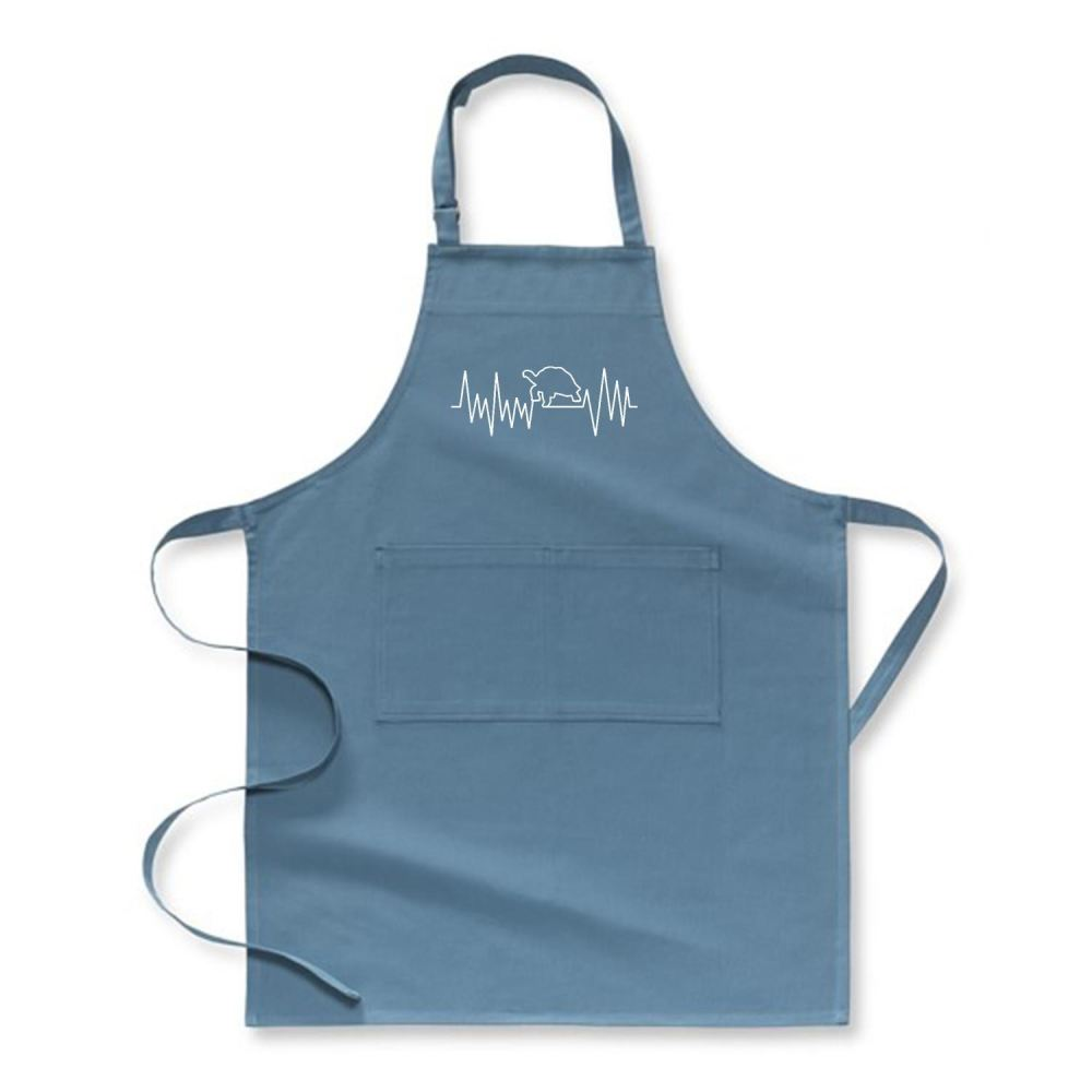 Turtle Beat Sea Turtles Apron - Hoki / Polyster - Productgenjpg