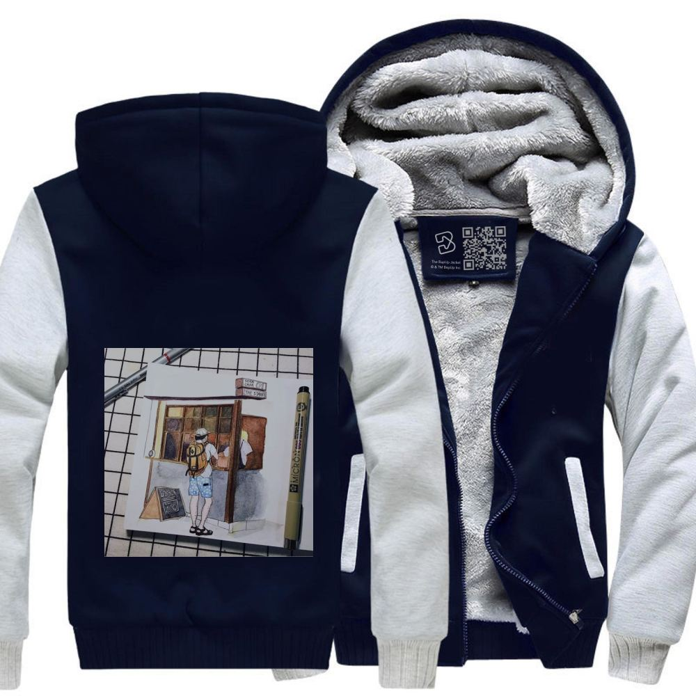 Unnamed Linerrrrr Fleece Jacket - White / X-Small