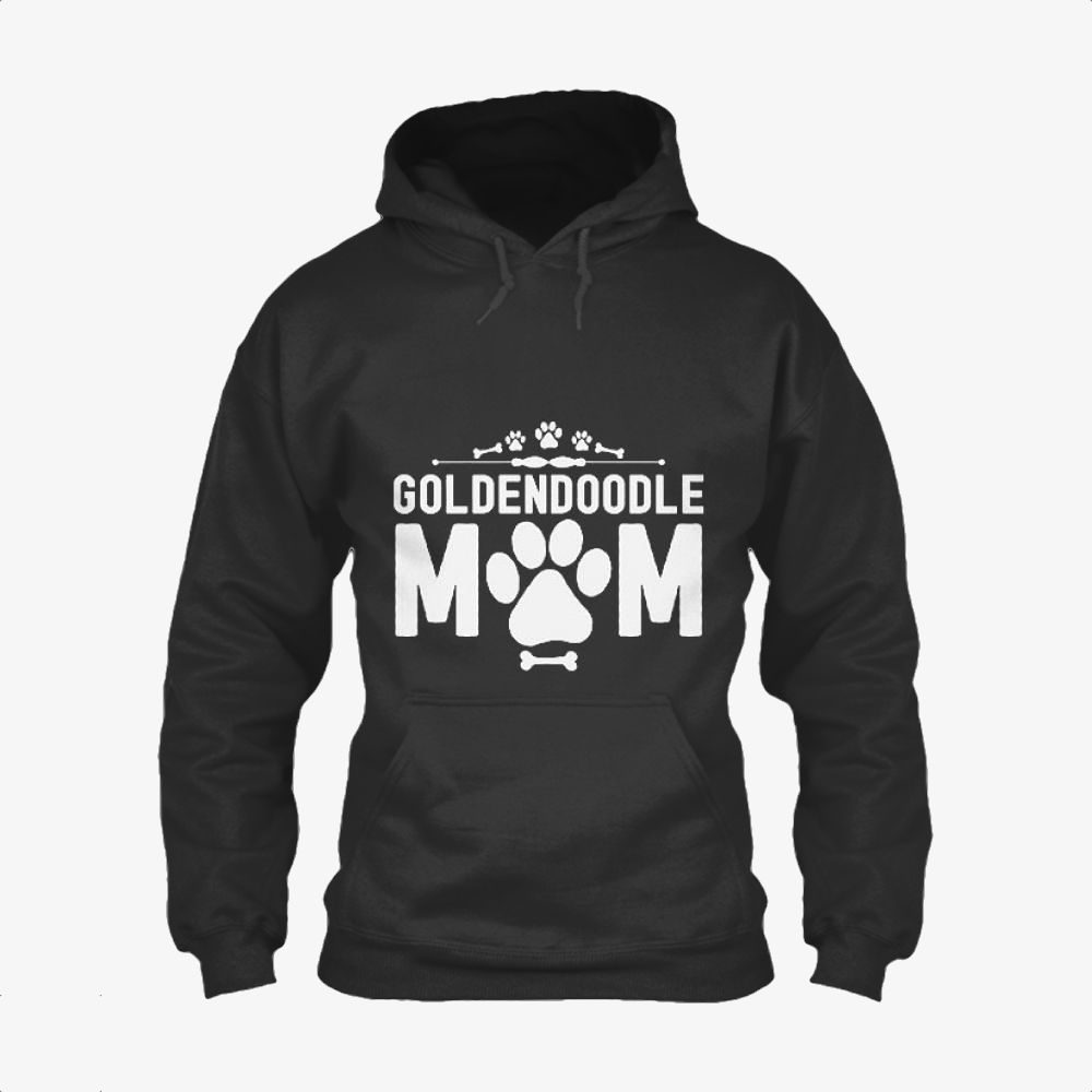 Goldendoodle Mom, Family Love Classic Hoodie