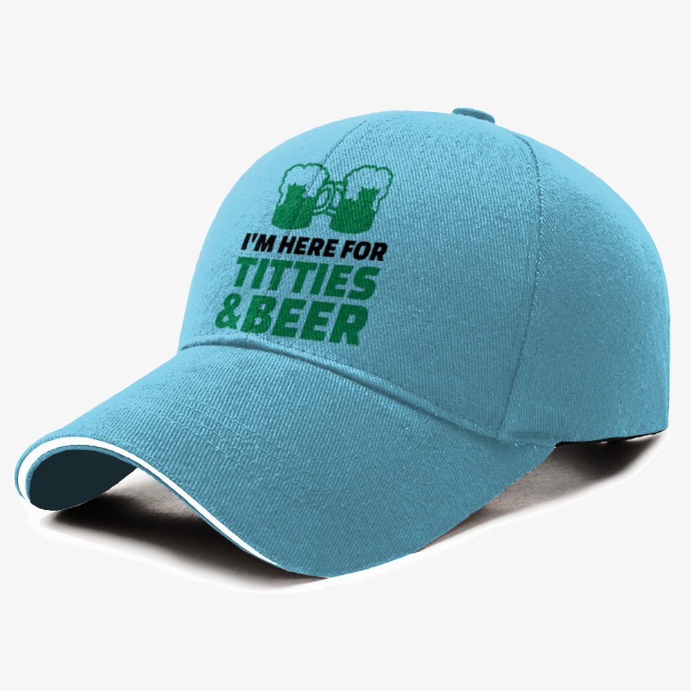 I'm Here For Titties Beer, Irish Clover Baseball Cap