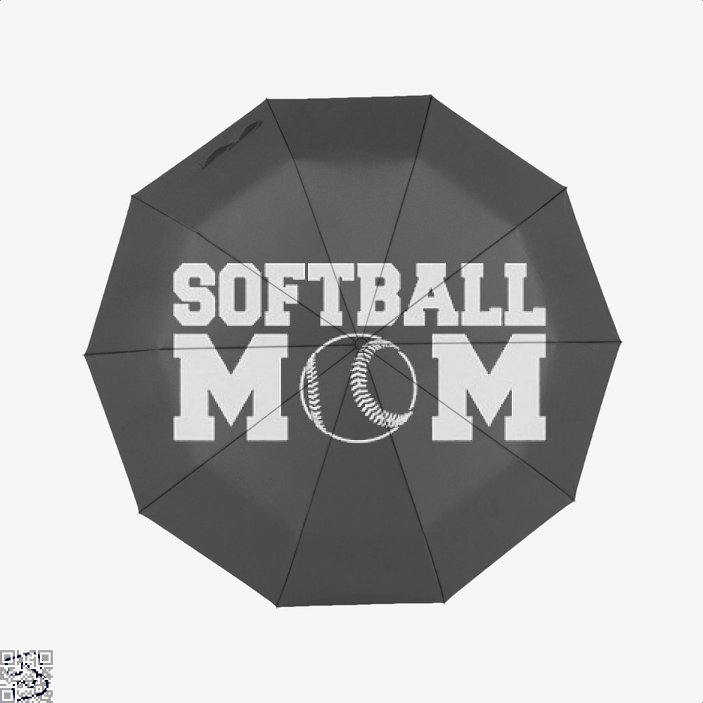 Softball Mom, Family Love Classic Umbrella