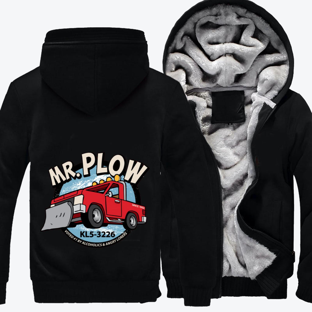 Mr. Plow Truck, The Simpsons Fleece Jacket
