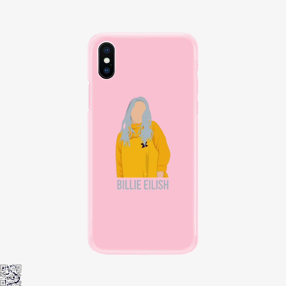 Yellow Billie Eilish, Billie Eilish Phone Case
