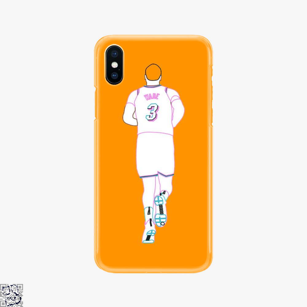 7bce4a96332 Dwyane Wade Miami Vice Neon Phone Case – BapUp Store - Own Your ...