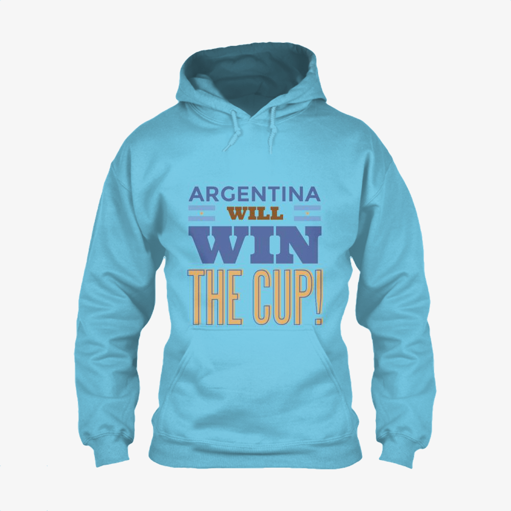 Argentina Will Win The Cup, Fifa World Cup Classic Hoodie
