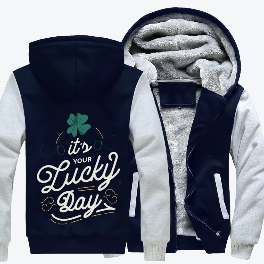 Lucky Day, Saint Patrick's Day Fleece Jacket