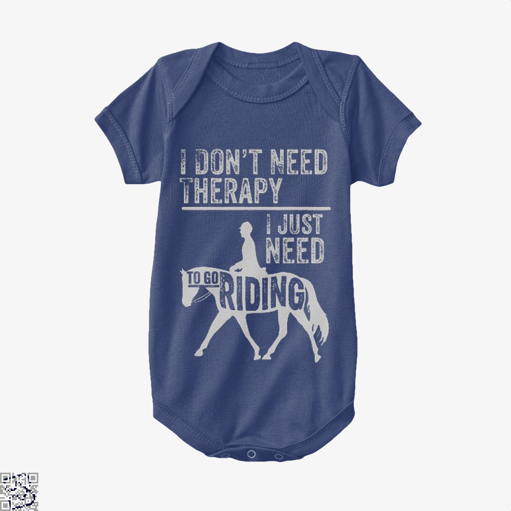 Horse Riding Therapy, Anecdotal Baby Onesie