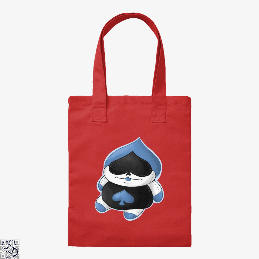 Lancer Plush, Deltarune Tote Bag
