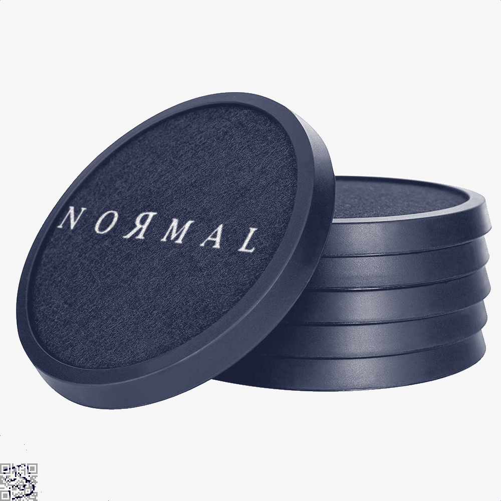 Normal, Anti-establishment Silicone Drink Coaster