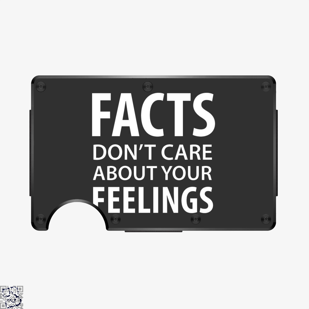 Facts Feelings, Conservative Aluminum Wallet