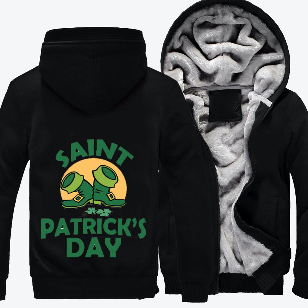 March 17th, Saint Patrick's Day Fleece Jacket