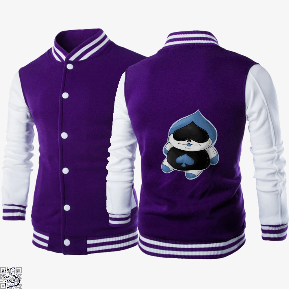 Lancer Plush, Deltarune Letterman Jacket