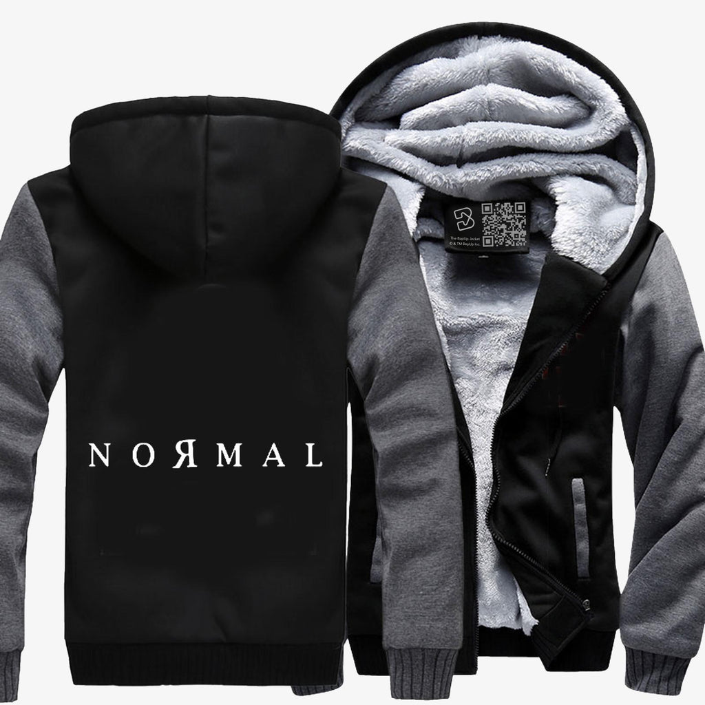 Normal, Anti-establishment Fleece Jacket