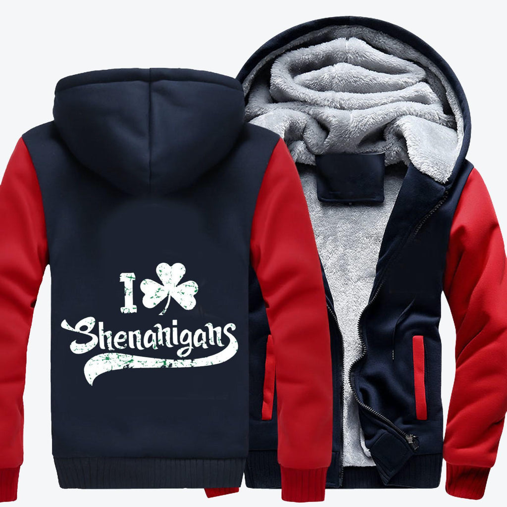 Shenanigans, Saint Patrick's Day Fleece Jacket