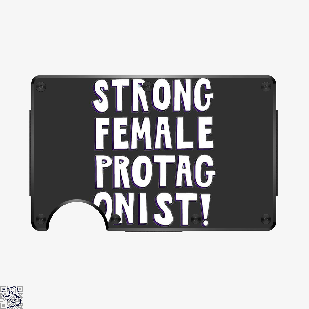 Strong Female Protagonist, Feminism Aluminum Wallet
