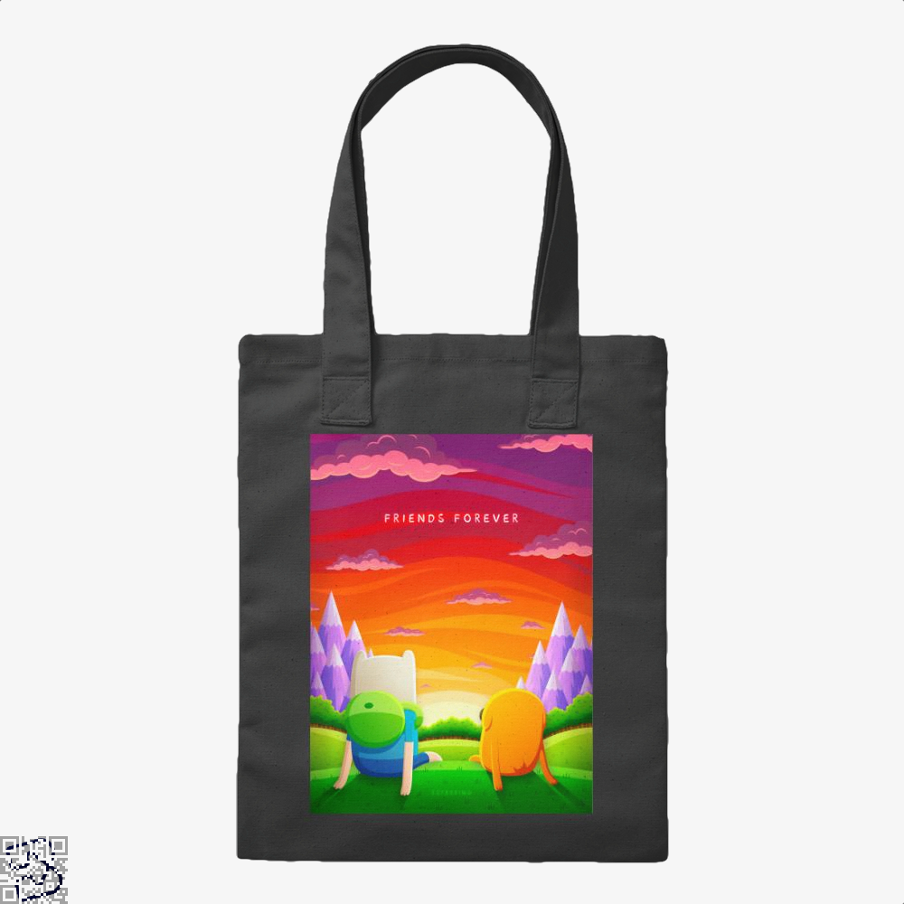 Friends Forever, Adventure Time Tote Bag