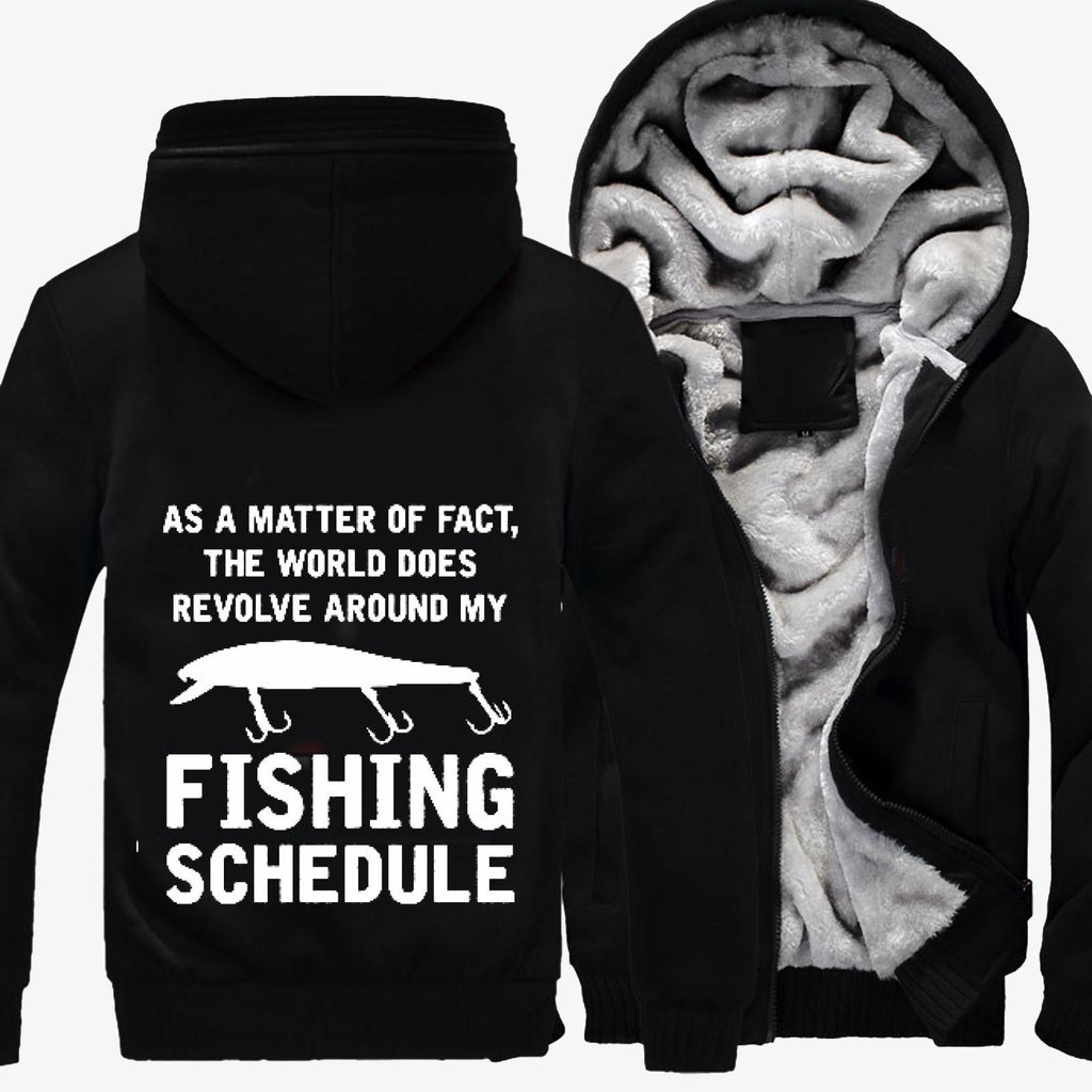 As A Matter Of Fact Fishing, Fishing Fleece Jacket