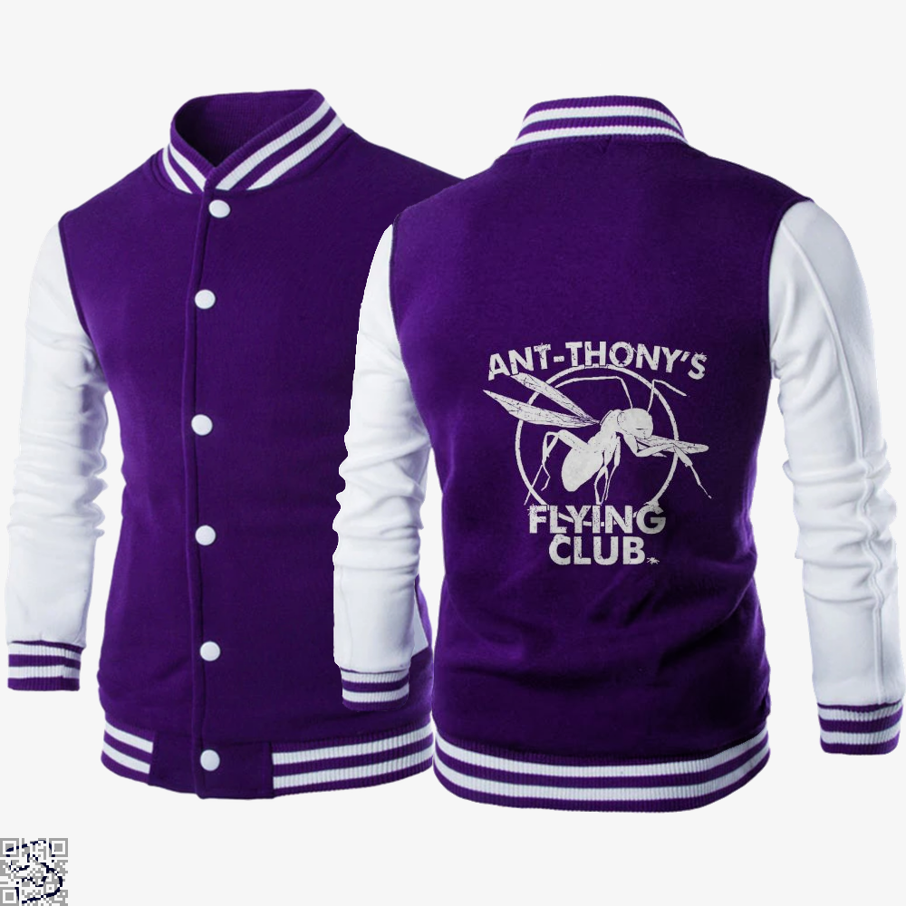 Ant-thony's Flying Club , Ant Man Letterman Jacket