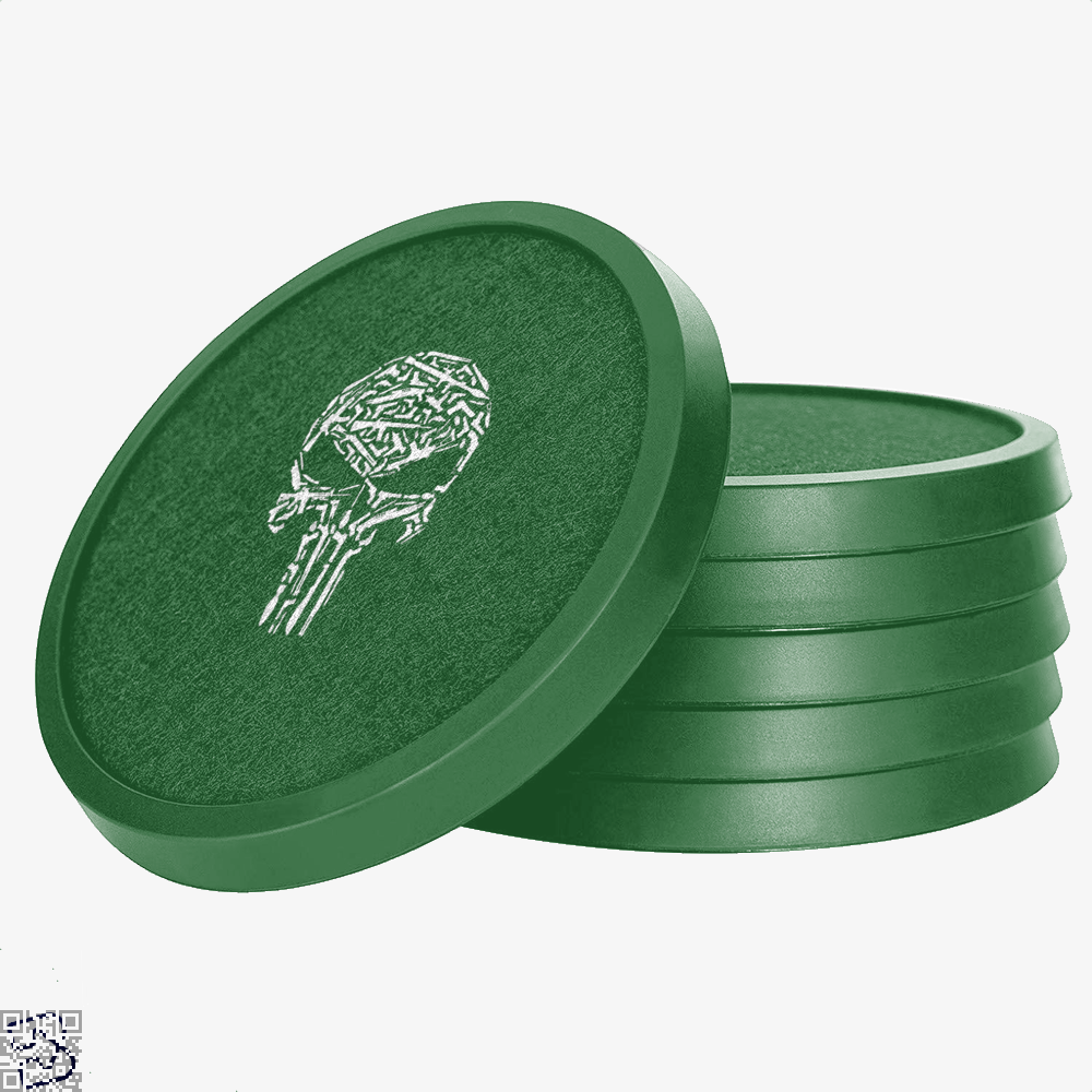 Punisher Skull, Punisher Silicone Drink Coaster