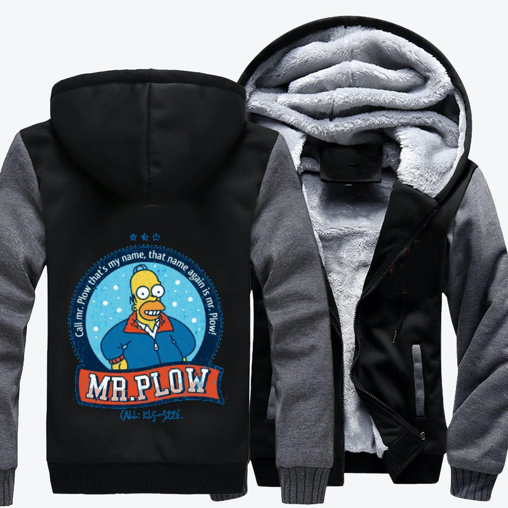 Call Mr Plow, The Simpsons Fleece Jacket