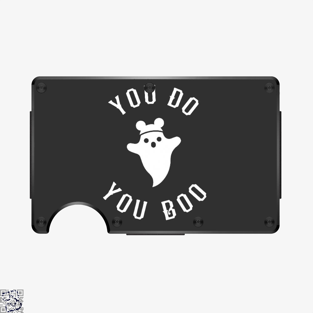 You Do You Boo, Halloween Aluminum Wallet