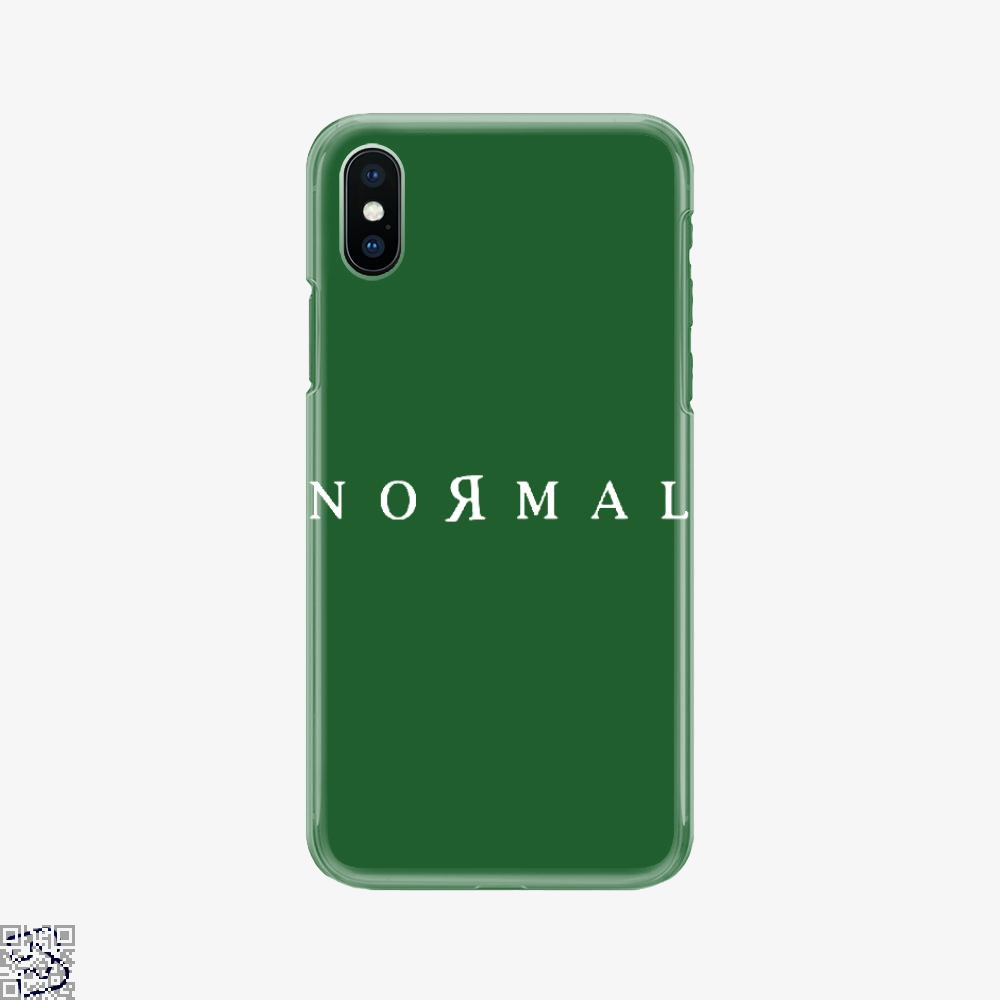 Normal, Anti-establishment Phone Case