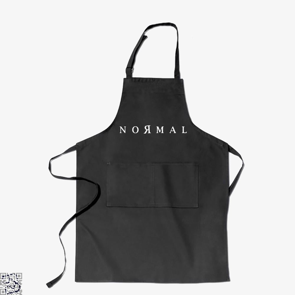 Normal, Anti-establishment Apron