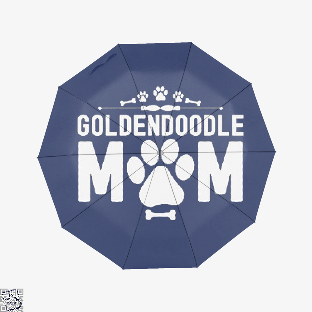 Goldendoodle Mom, Family Love Classic Umbrella