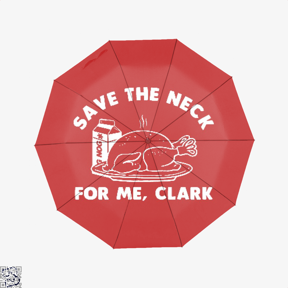 Save The Neck For Me Clark, Droll Classic Umbrella