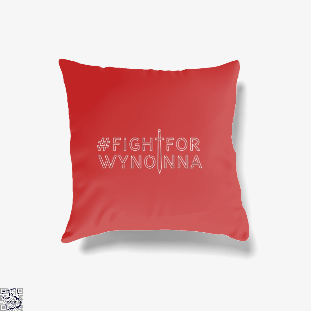 Fightforwynonna, Wynonna Earp Throw Pillow Cover