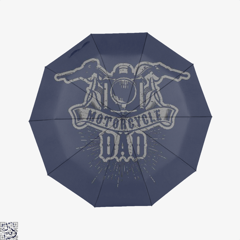 Motorcycle Dad, Family Love Classic Umbrella