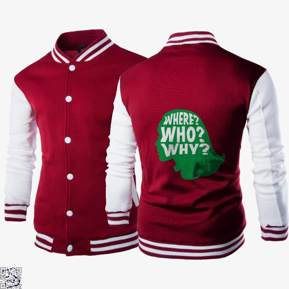 Where Who Why, Gamora Letterman Jacket
