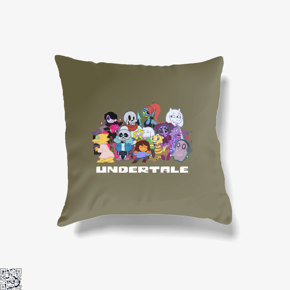 Undertale Family, Undertale Throw Pillow Cover