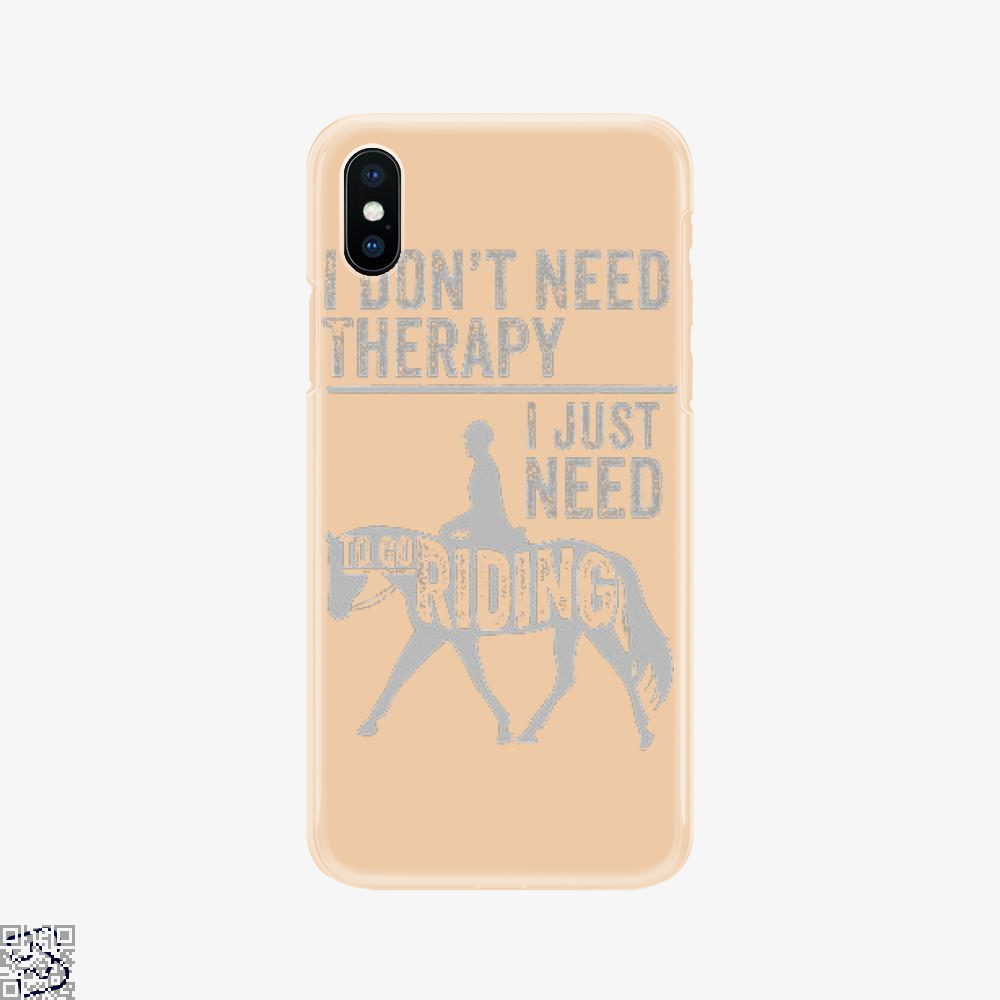 Horse Riding Therapy, Anecdotal Phone Case