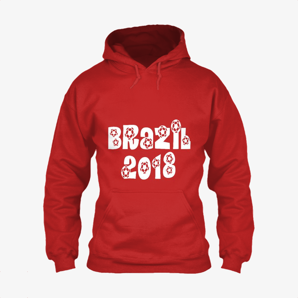 Brazil 2018, Fifa World Cup Classic Hoodie
