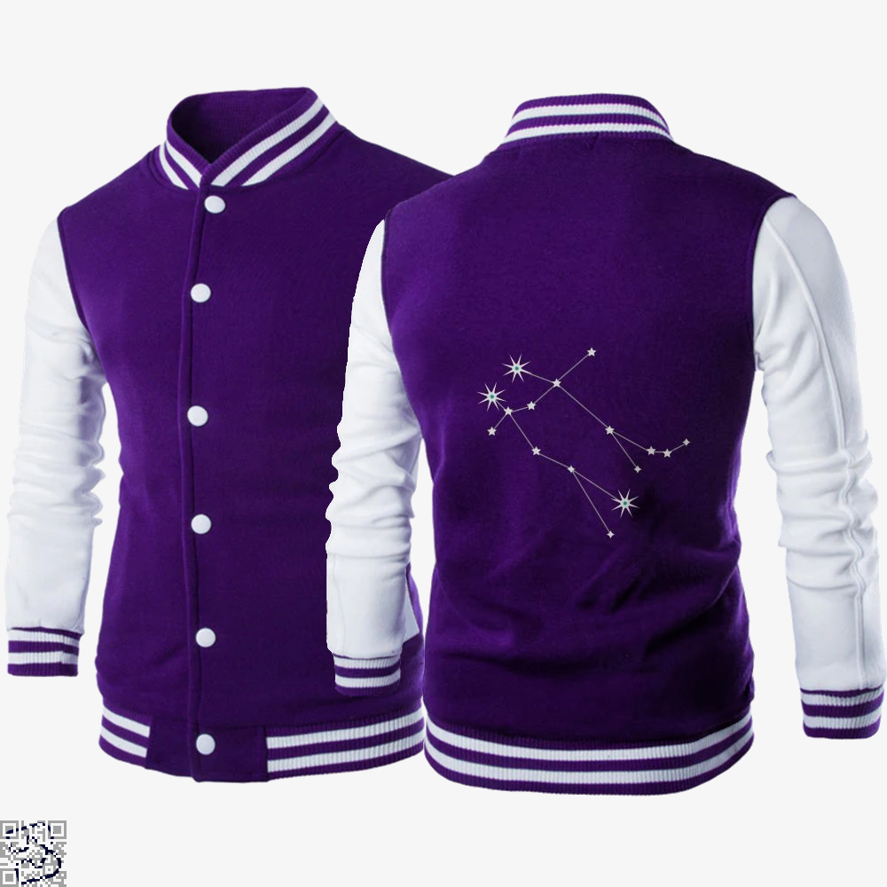 Gemini On Black, Gemini Letterman Jacket