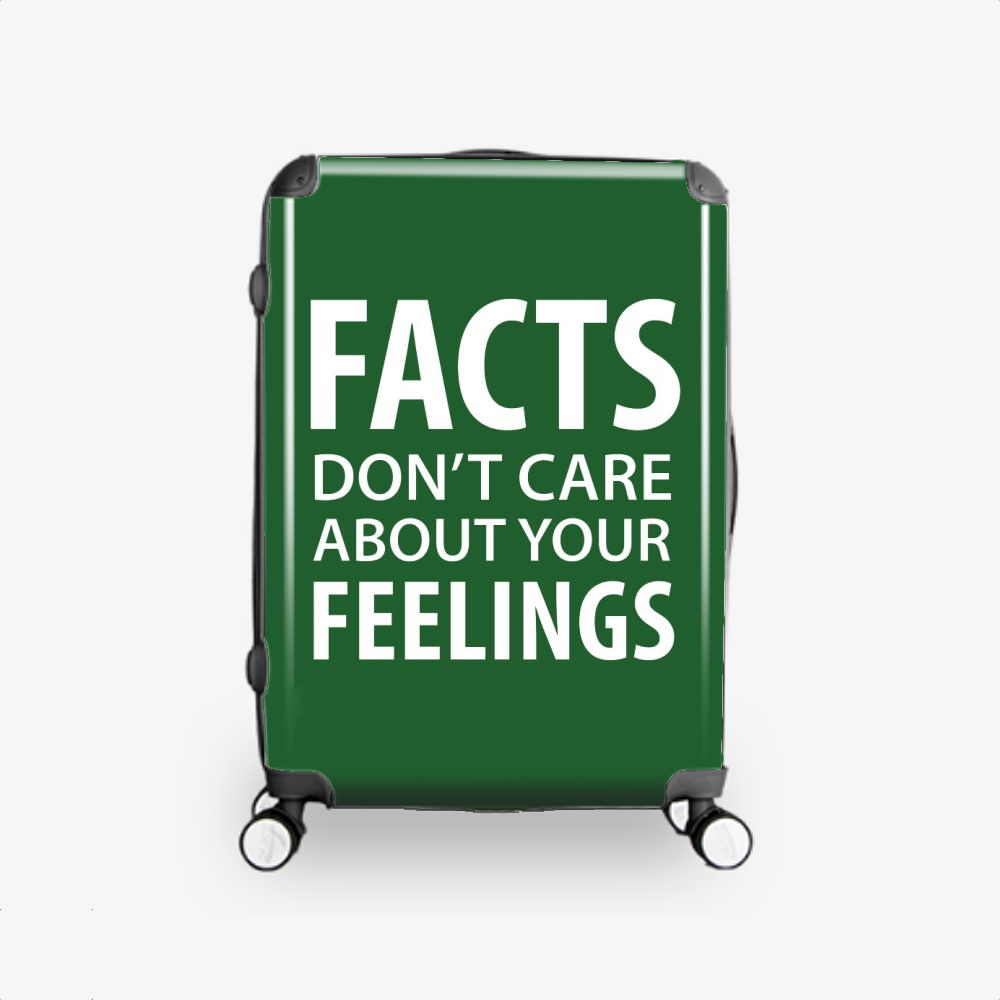 Facts Feelings, Conservative Hardside Luggage