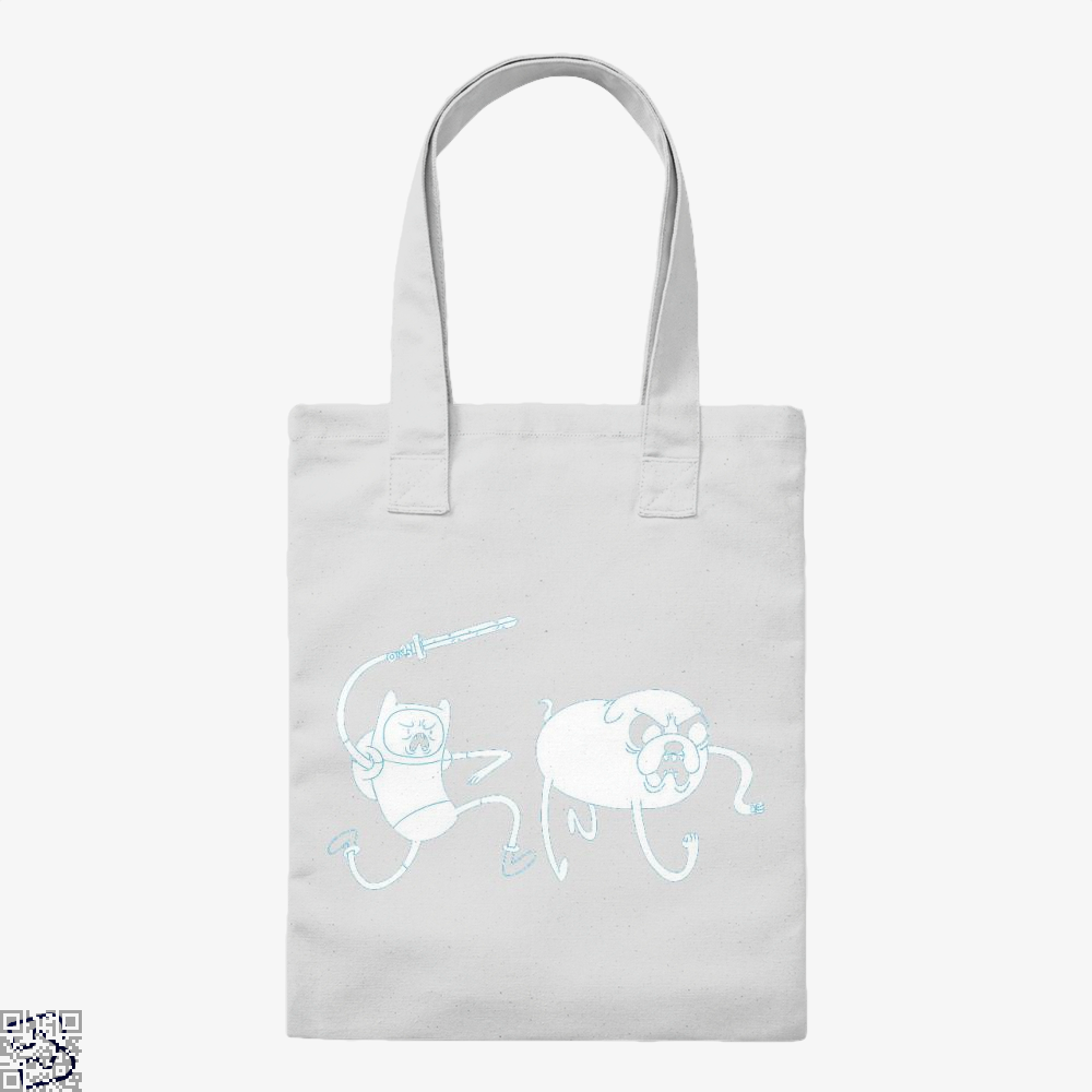Adventure Time Finn And Jake, Adventure Time Tote Bag