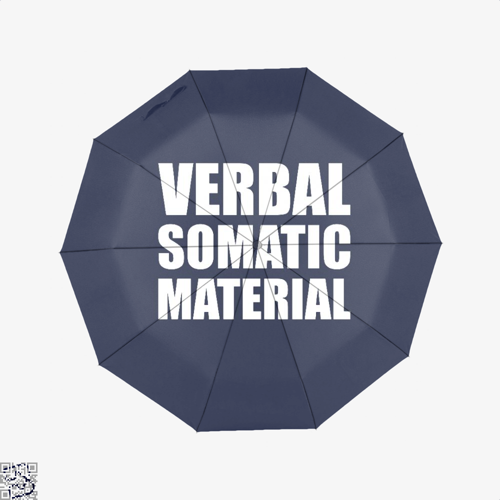 Verbal Somatic Material Dragon And Dungeon Umbrella - Blue - Productgenjpg