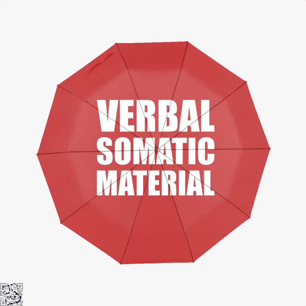 Verbal Somatic Material Dragon And Dungeon Umbrella - Red - Productgenjpg