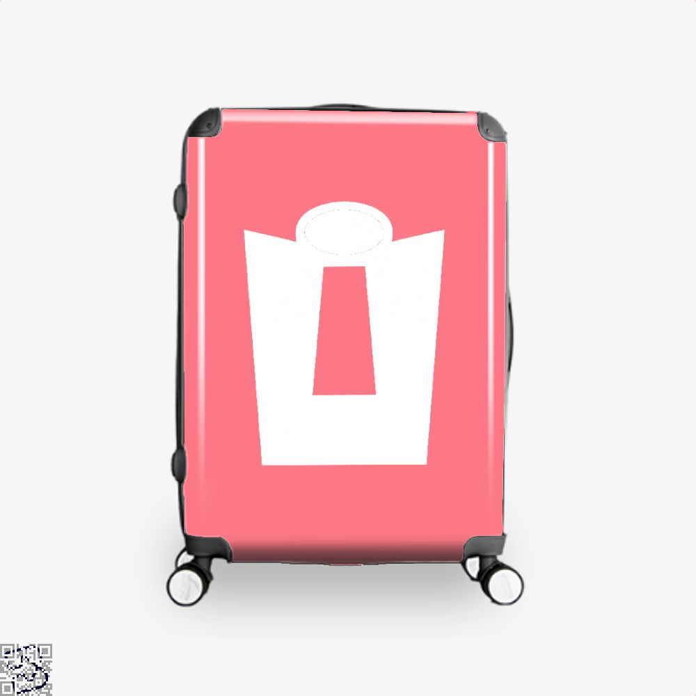 Vintage Incredible Hero Incredibles Suitcase - Pink / 16 - Productgenapi
