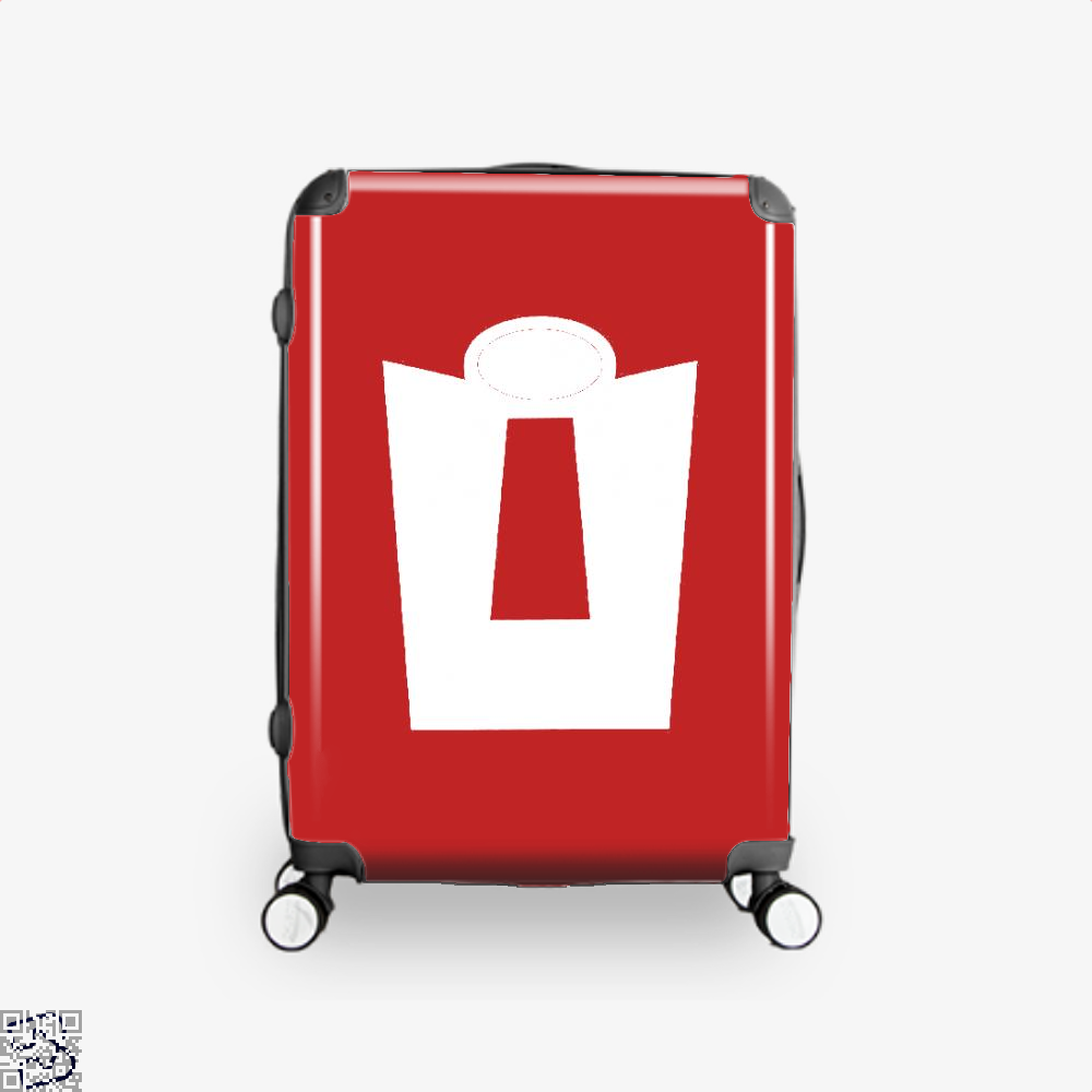 Vintage Incredible Hero Incredibles Suitcase - Red / 16 - Productgenapi