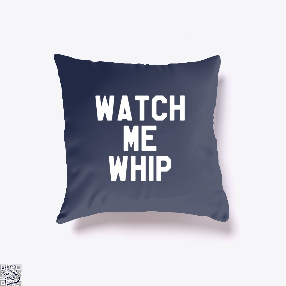 Watch Me Whip Chefs Throw Pillow Cover - Blue / 16 X - Productgenapi