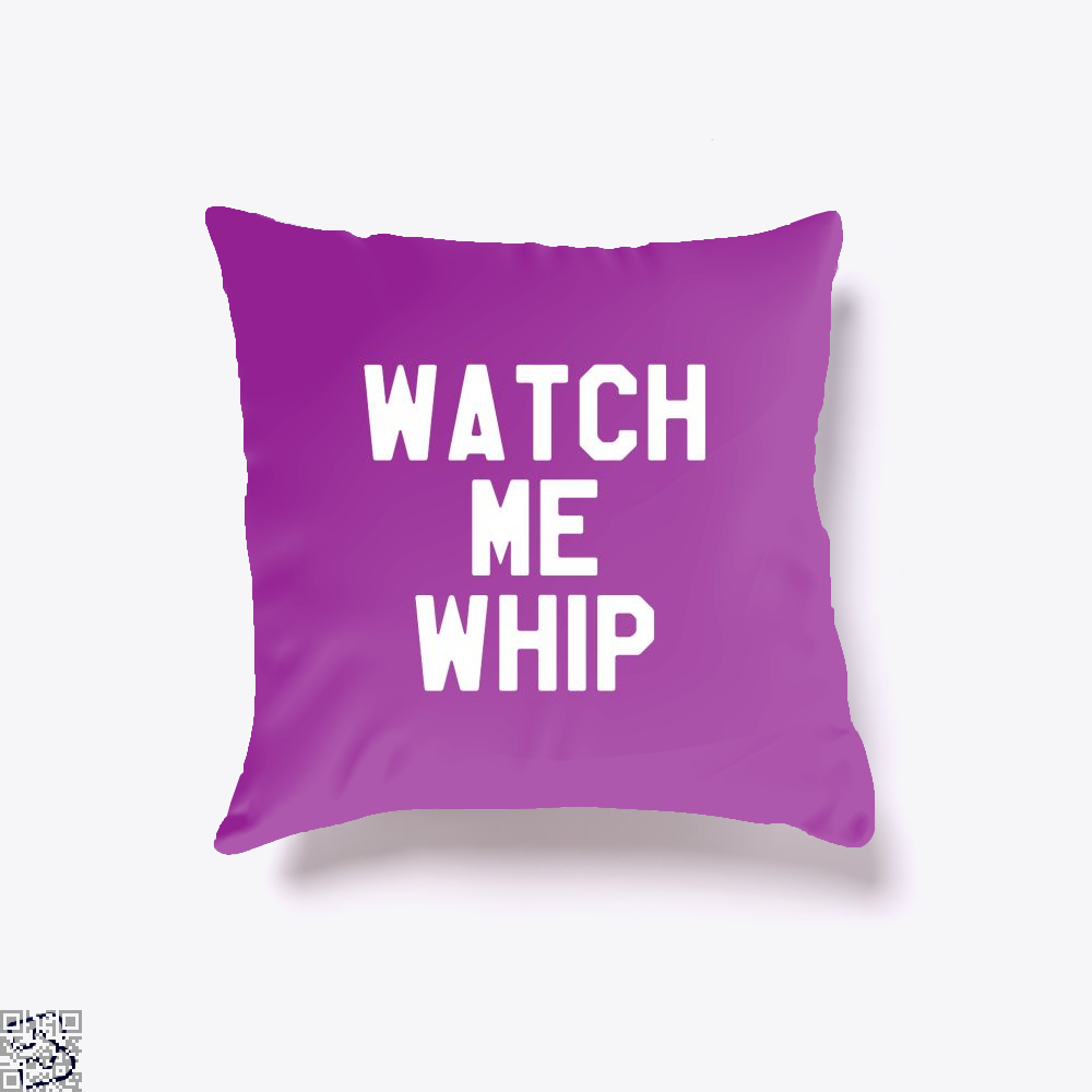 Watch Me Whip Chefs Throw Pillow Cover - Purple / 16 X - Productgenapi
