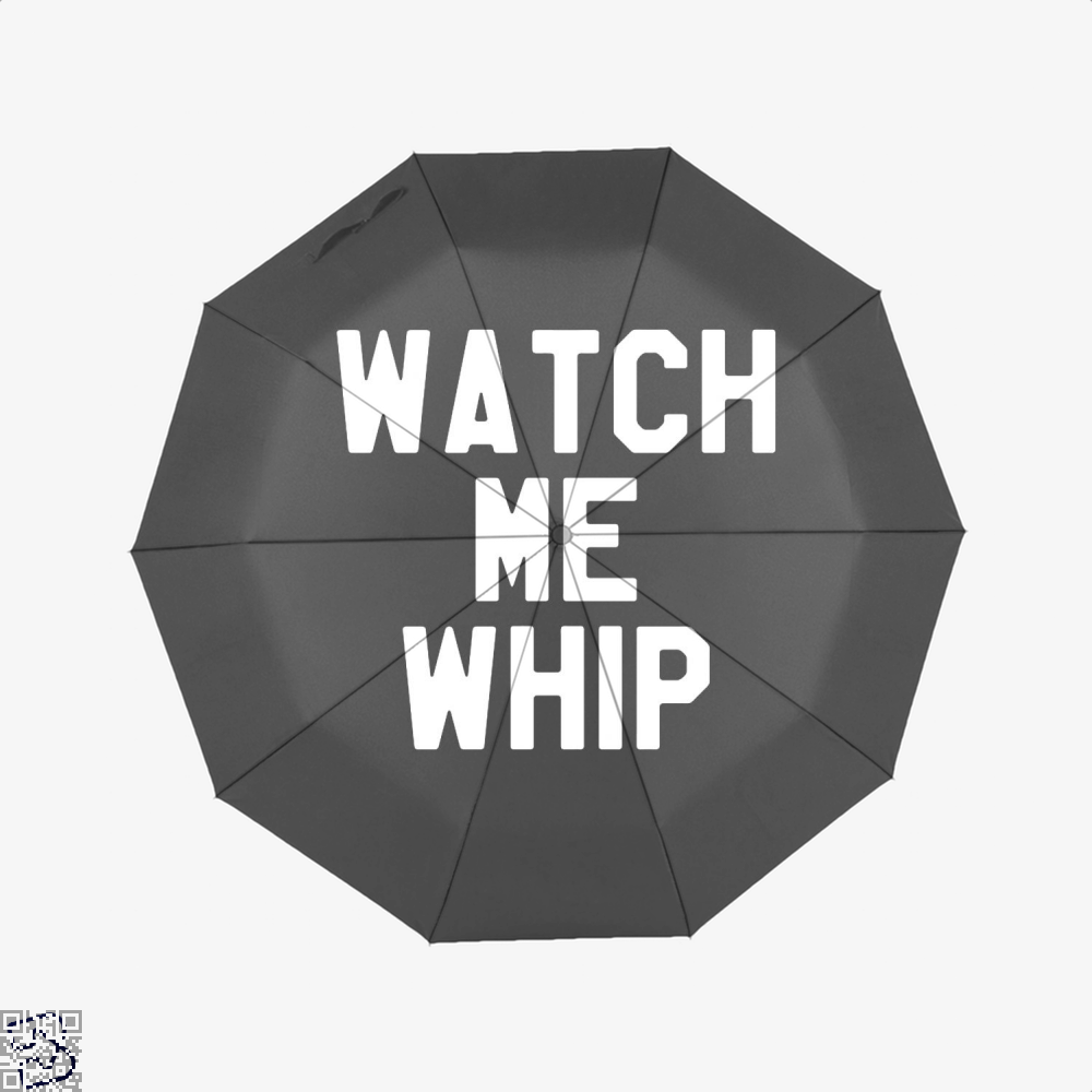 Watch Me Whip Chefs Umbrella - Black - Productgenapi
