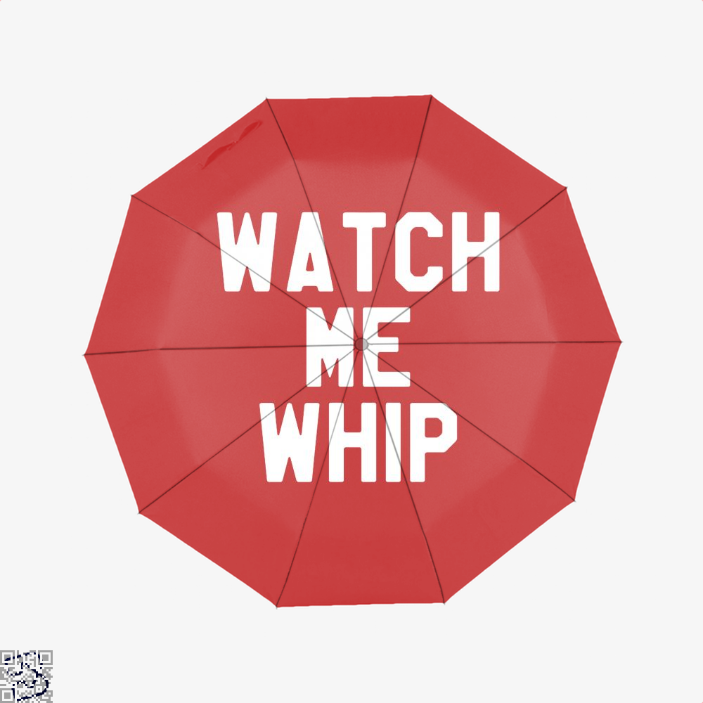 Watch Me Whip Chefs Umbrella - Red - Productgenapi
